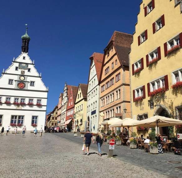 The medieval town of Rothenburg, Germany