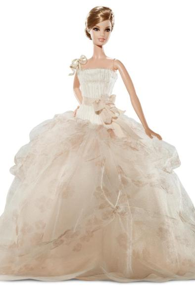 Barbie Vera Wang wedding dress