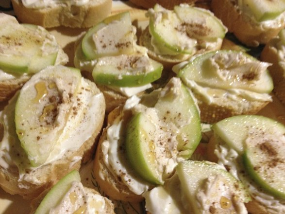 brie and apple bruschetta recipe