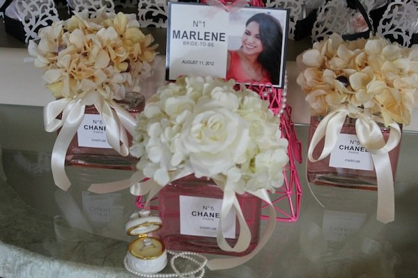 coco chanel inspired bridal shower
