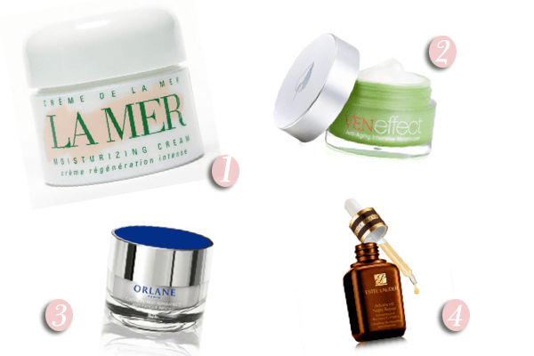 4 expensive face creams don't smell