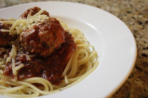 spaghetti and meatballs recipe ground beef and pork