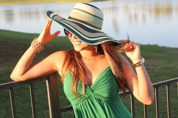 how to wear summer hat