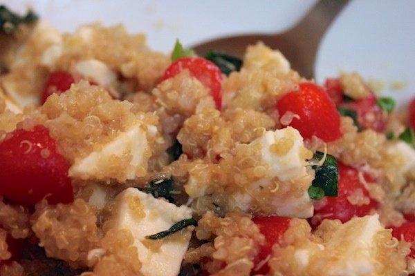 caprese quinoa salad recipe
