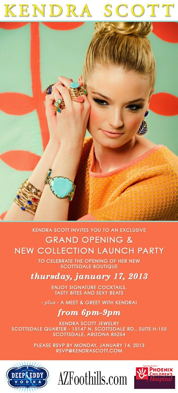 kendra scott spring preview party