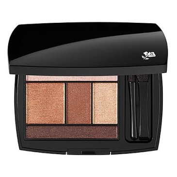 lancome color design 5 color shadow palette bronze amour