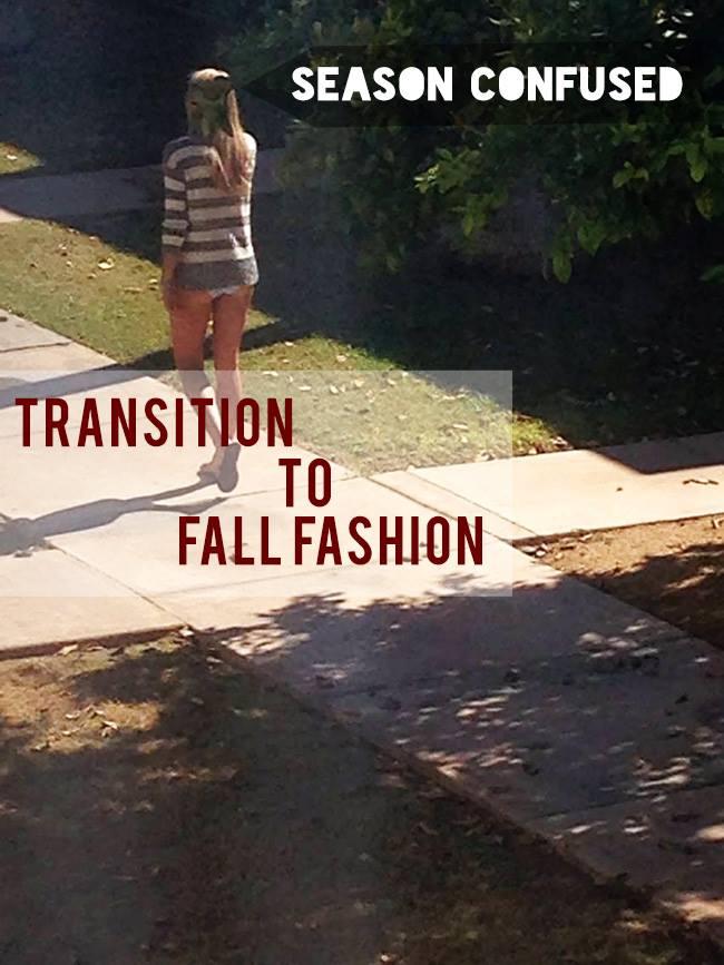 transition to fall fashion