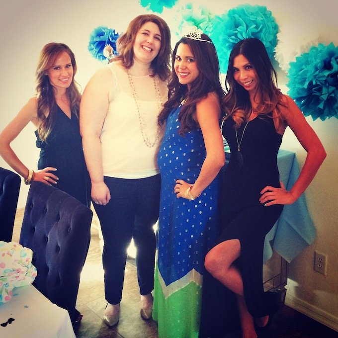 beautiful couples baby shower