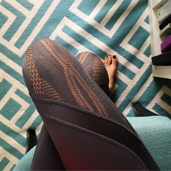 the perfect lace leggings from Alo Yoga