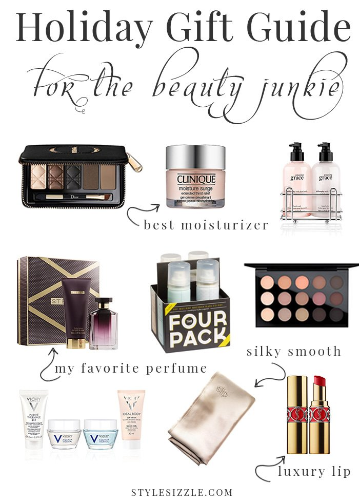 2016 holiday gift guide beauty gift ideas for her. Click to see some of the other beauty gift ideas in the post!