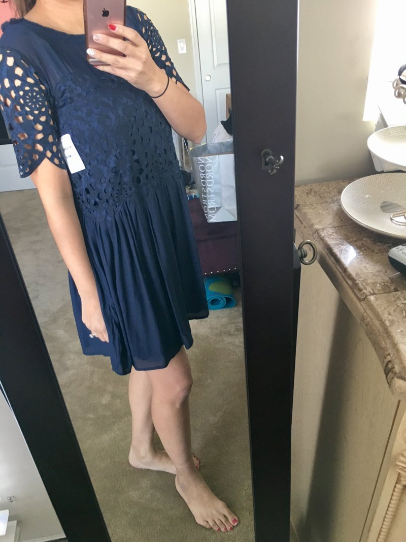 Bump friendly non-maternity dresses from Trunk Club! Click to see the rest of this haul