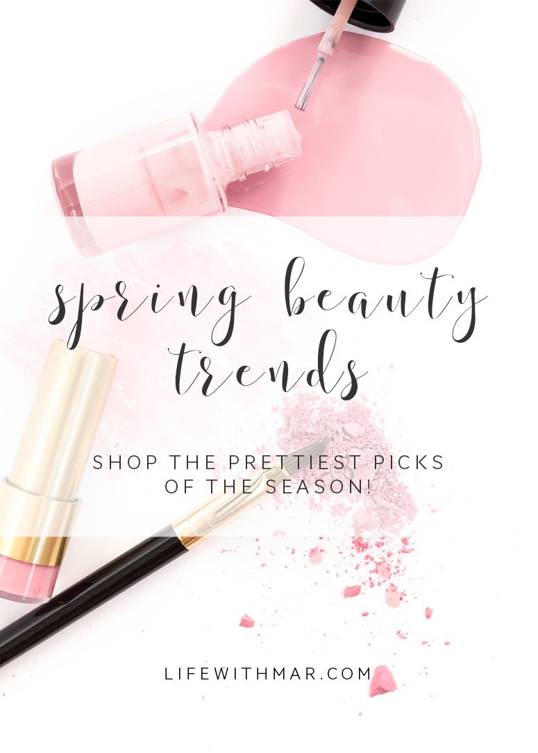 Spring beauty trends, shop the hottest looks of the season! Click to read the full post
