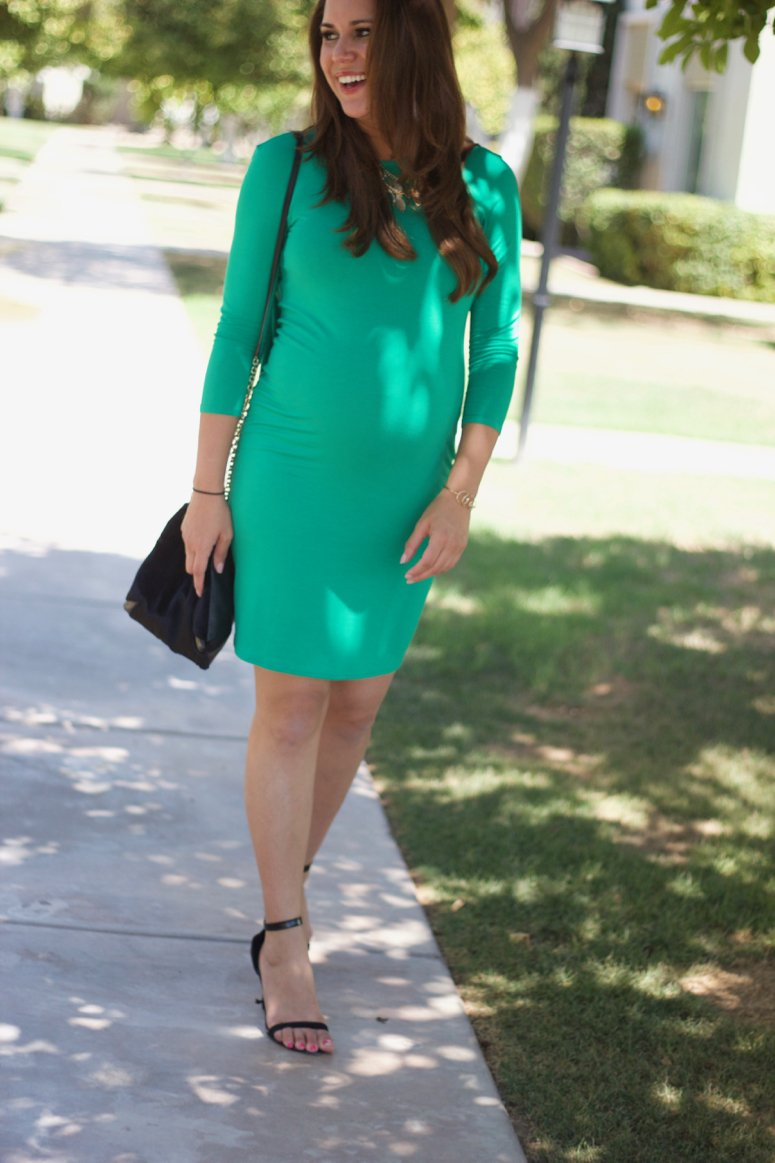 Cute bump style, maternity style with ASOS Maternity. This dress is just $15!