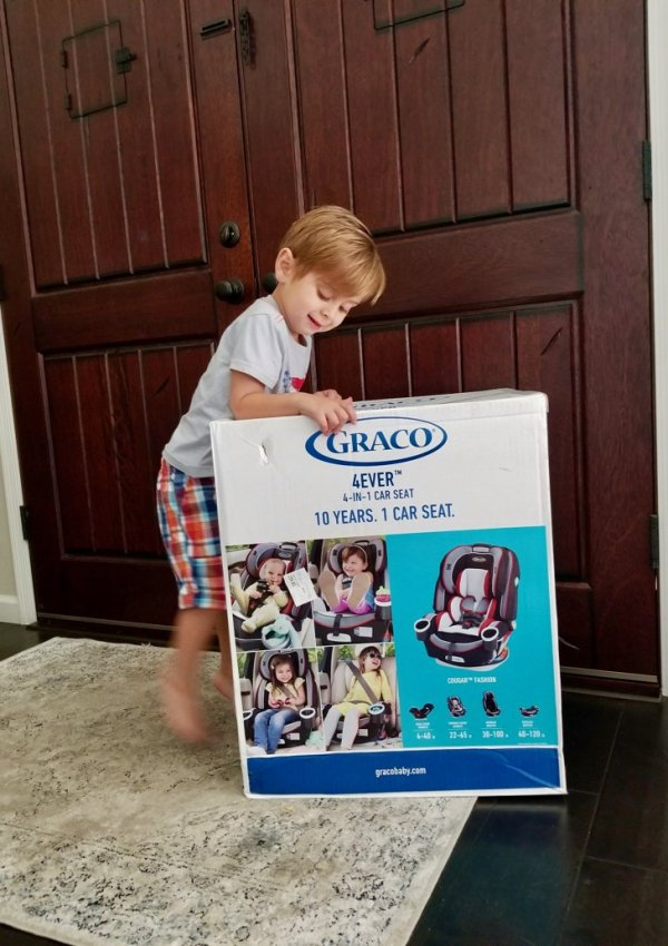 Best Car Seat for Grandparents | Graco 4Ever All-in-One Convertible Car Seat Review