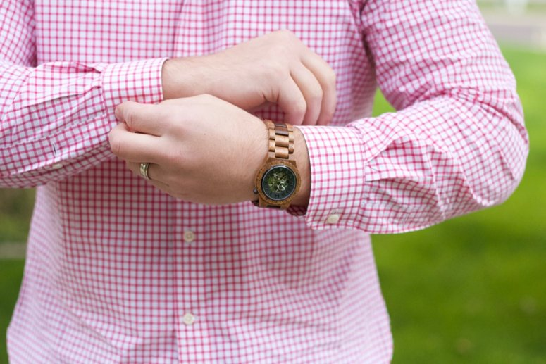 Jord wood watches for men. Dover series watch and discount code