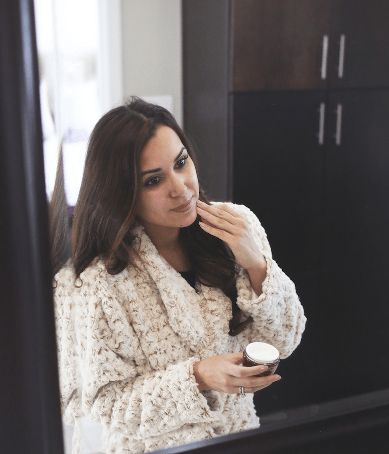 winter skincare tips and olay whips review