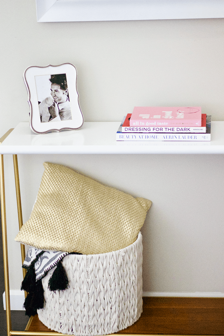 Our entryway makeover-entryway ideas Target Project 62 console table
