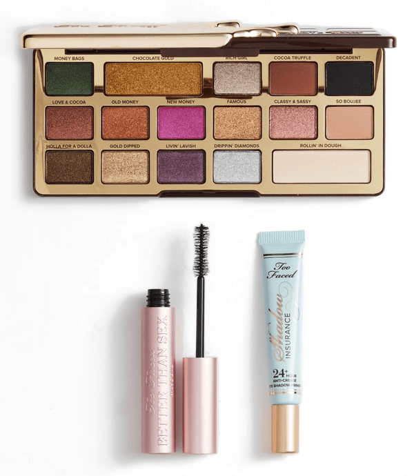 too faced sex gold and chocolate ordstrom anniversary sale 2018 best beauty buys