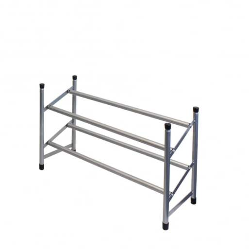 Tiered Extendable Shoe Rack