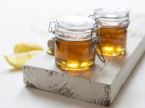 hone and lemon homemade face mask