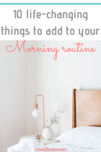 10 things to do before 10a.m