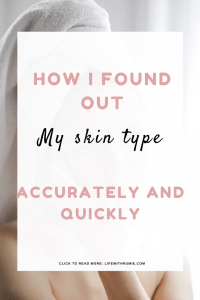 how to find out your skin type
