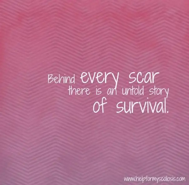 scoliosis-scar-quote-survival