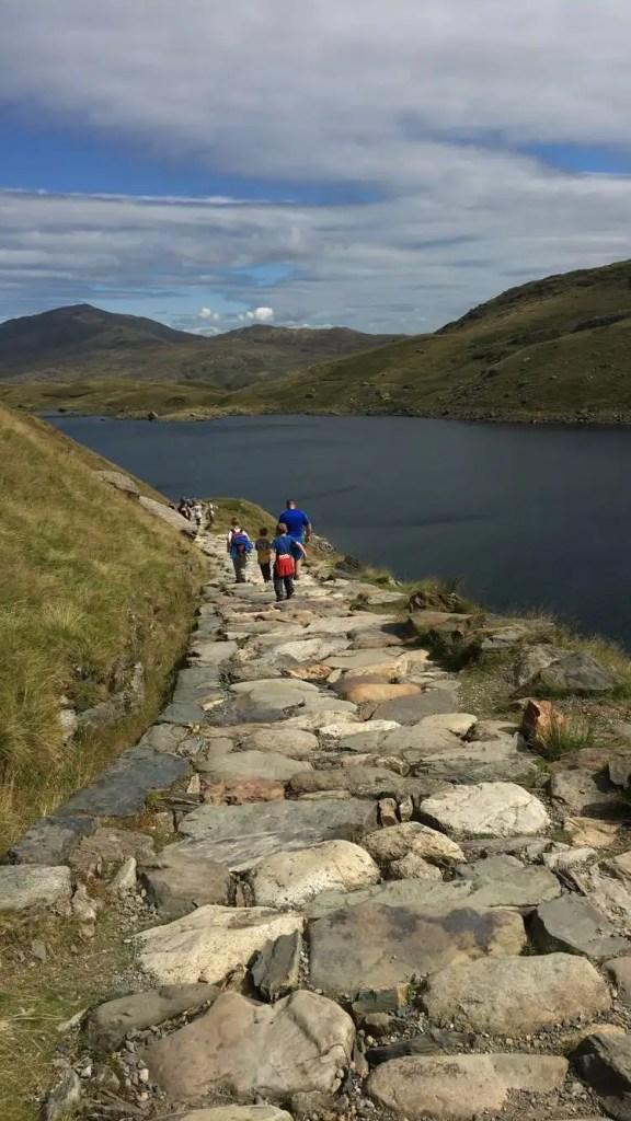 Snowdon: Miners Track