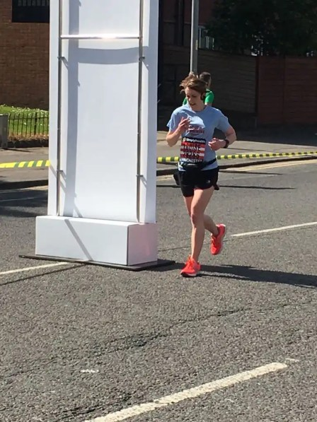 My first half marathon 2