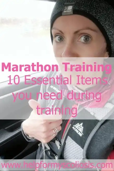 Marathon Training: 10 Essential Items you need during training