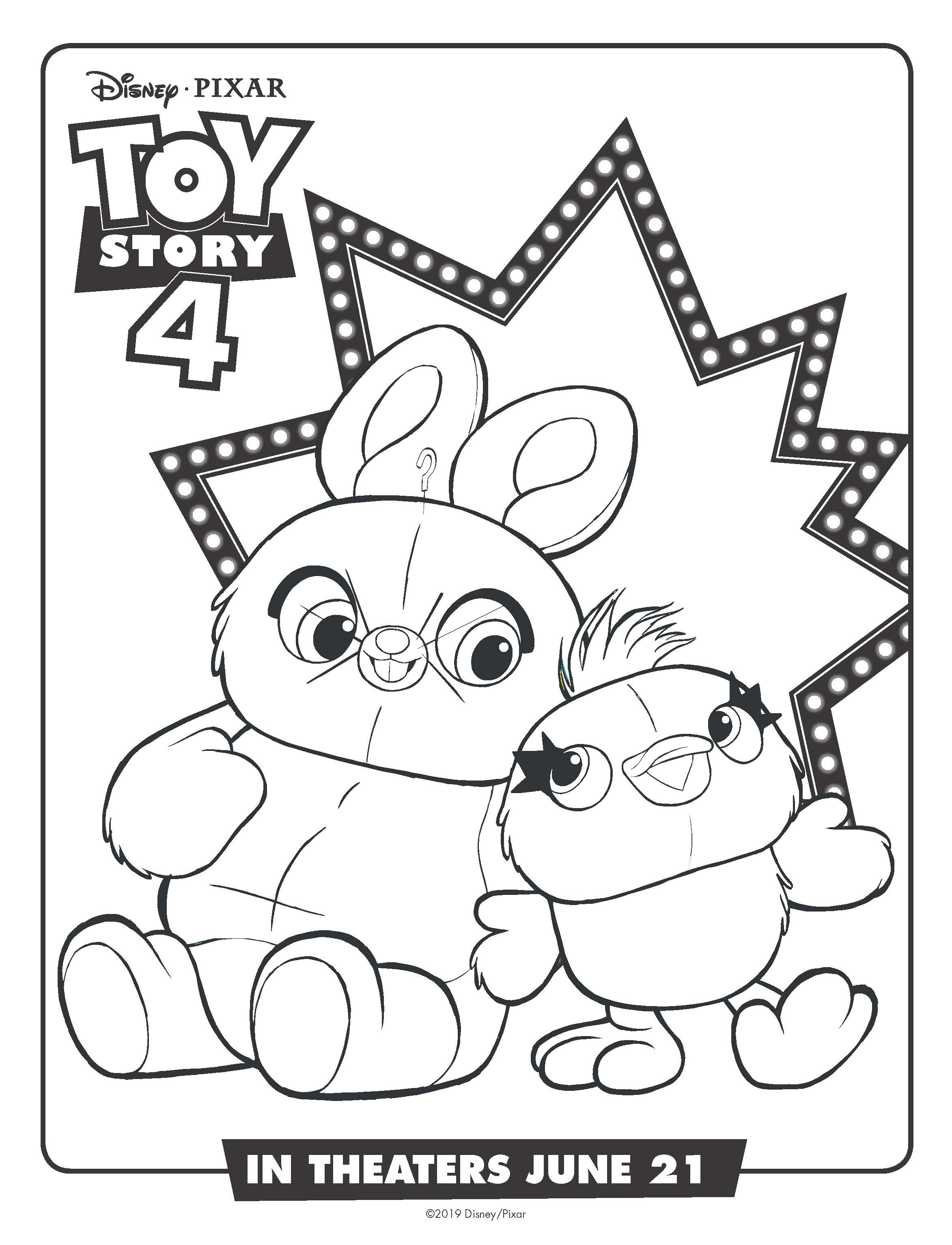 10 Free Toy Story 4 Coloring Pages And Printables