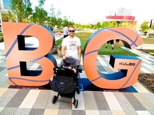 Papa Bear with Baby Bear. :)