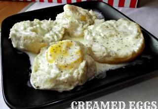 Creamed Eggs