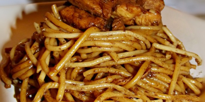 Chicken Stir-fry with Asian Noodles