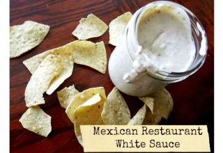 Mexican Restaurant White Sauce