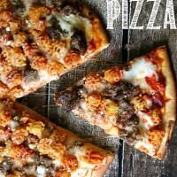 Lasagna Pizza, a New Family Favorite!!