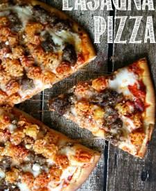 Lasagna Pizza #FamilyFavorites #CollectiveBias