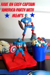 Captain America Party with M&M's #HeroesEatMMs #CollectiveBias
