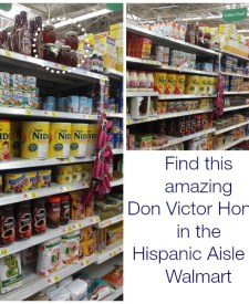 DonVictor Honey in Walmart #HoneyForHolidays #DonVictor #CollectiveBias