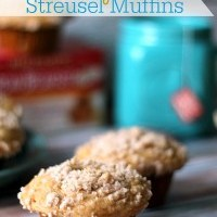 Honey Tea Streusel Muffins