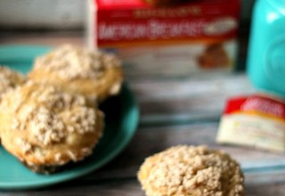Honey Tea Streusel Muffins #AmericasTea #CollectiveBias