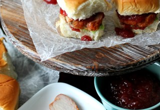 Yummy Cranberry Pork Sliders