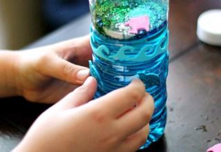 Glitter Ocean Bottles