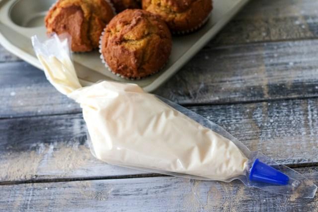 Pillsbury filled pastry bag in cream cheese, yum (1 of 1)