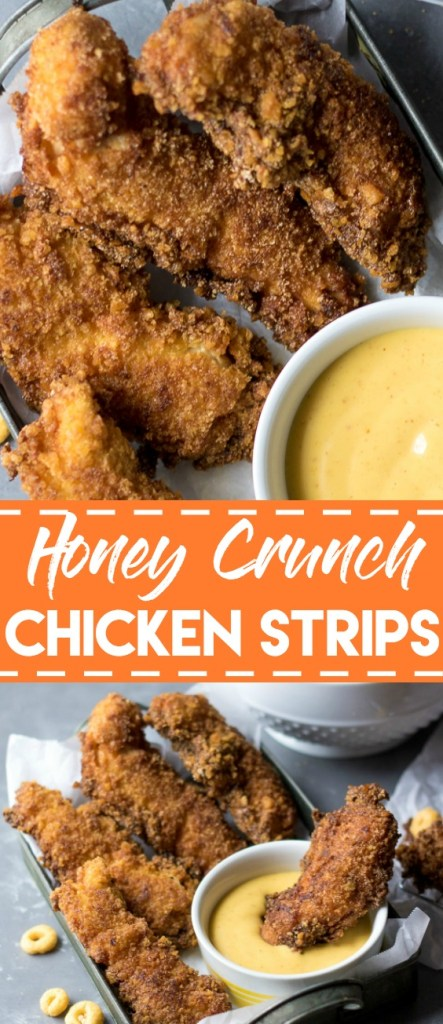 Honey Crunch Chicken Strips