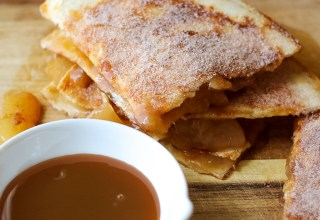 Caramel Apple Pie Quesadillas-1