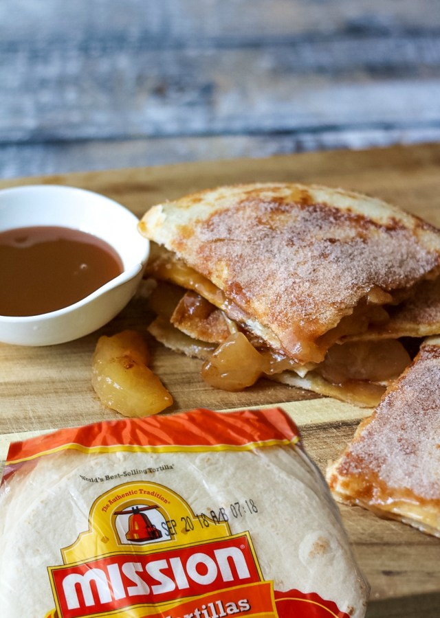 Caramel Apple Pie Quesadillas-90