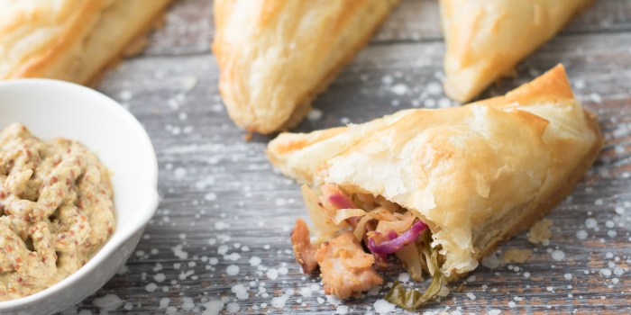 Mini Pork and Cabbage Pies