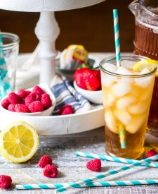 Southern Sweet Iced Tea is essential in our house. Sweet and cold it is the perfect thing on a hot summer day. Make a pitcher of this for your fridge today!