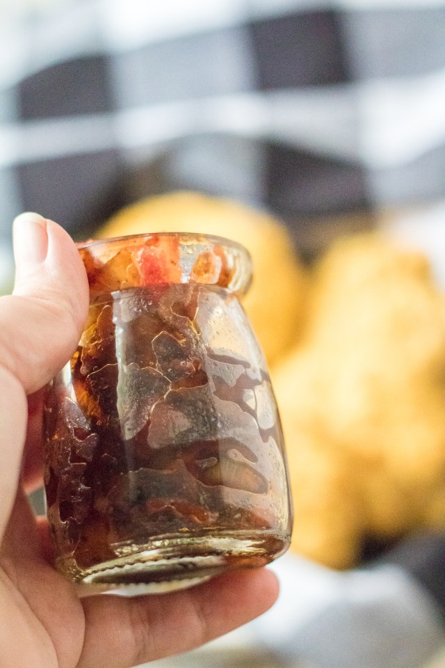 Easy Bacon Jam is the most delicious thing you will ever make!! This is sweet, salty and perfect on anything! It is also makes a great gift!
